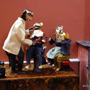 The figures automata Museum in Vertheuil