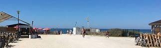 Les surveillants des plages à Euronat